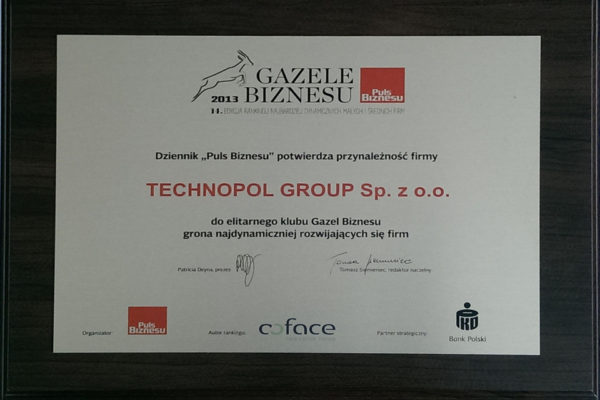 gazela 2013